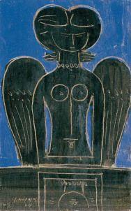 Romantic Art, Greek Paintings, Art Painting, Urban Art, Painting, Blue Painting, Illustration Art, Visual Art, Art