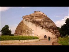"The Golghar or Gol Ghar (गोलघर), (""Round house""), located to the west of the Gandhi Maidan in Patna, capital of Bihar state, India. Bodh Gaya, Laser Show, History Of India, Historical Landmarks, Tourist Places, Trip Advisor, Tourism, Places To Visit, City"