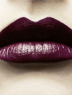 Wine colored lips. #Lips #Beauty #Lipstick #Makeup #Gifts Additional shades available at Beauty.com
