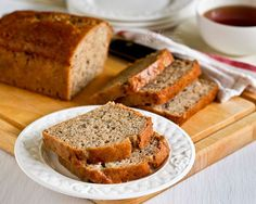 Cream cheese gives this Banana Cream Cheese Bread an even and tender texture. Very moist and deliciously satisfying. Great any time of the day.