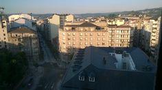 Vista de Orense desde el Gran Hotel San Martín