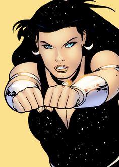 3X2(9YZ)4A! Cosmic Comics, Marvel Dc Comics, Original Teen Titans, Wonder Woman Comic, Dc Memes, Batman The Dark Knight, 90s Cartoons, Dc Characters, Fantasy Girl
