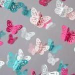 Nursery Mobile - Hot Pink &..
