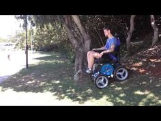 Out and About Healthcare - A0013 - Observer Aussie Bush 4x4 All Terrain Electric Wheelchair ()