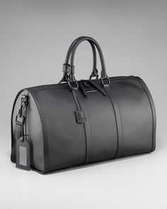 Burberry - Leather Duffel Bag