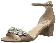 Badgley Mischka Women's Clove Dress Sandal Cocoa Brown