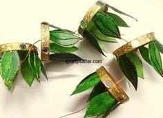 Diwali Ideas - Cards, Crafts, Decor, DIY and Party Ideas paper cup toran Diy Diwali Decorations, Festival Decorations, Hanging Decorations, House Decorations, Handmade Decorations, Diwali Craft For Children, Fireworks Wallpaper, Fireworks Gif, Diwali Activities