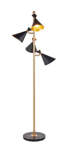 Modern American floor lamp【最灯饰】现代美式新款简约设计师样板房客厅书房卧室落地灯