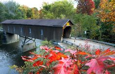 Start at the festival in Jefferson, or just work your way through the county's 18 covered bridges.