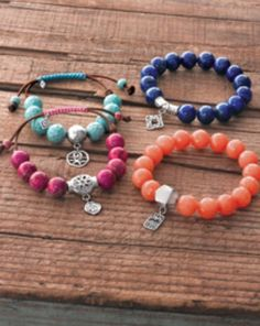 Love these Silpada beaded bracelets... Get them from me :) www.mysilpada.com/Jamie.mccaffrey