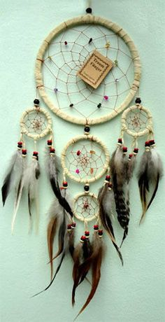 Cream Handmade Native American Indian by SelectaVibes on Etsy, £13.99
