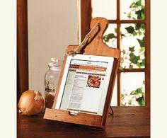 Cut Above Cookbook Stand