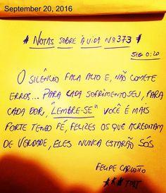 Inspiração da Madrugada✏✏ @escritorfelipecarlotto @felipe.carlotto.2905 @frases_versos_poesias_e_afins #felipecarlotto #igers #instagrammers