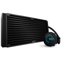 The next step in NZXT battle-tested 280mm water cooling platform, the Kraken X61 brings the heat with new FX 140 V2 fans, CAM connectivity, a high performance variable speed pump, and our industry leading 6 year warranty. The NZXT X61 water cooler is designed fo larger PC gaming cases and sets a new bar for high performance all-in-one water coolers.