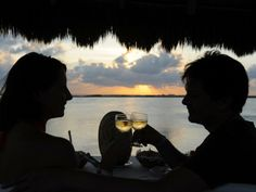 Sunset, Wine and Cheese in Sian Kaan. #UnikExperience
