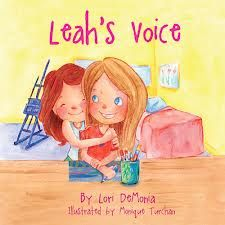Leah's Voice is a fictional story inspired by two sisters.  It touches on the difficulties children encounter when they meet a child with special needs such as autism. Siblings may find it difficult to explain to their friends, or feel disappointed when their friends aren't more understanding. Leah's Voice tells the story of two sisters facing these challenges. Through her kindness and devotion, one sister teaches by example the importance of including everyone and showing acceptance.