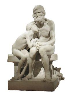 Los primeros fríos   Museu Nacional d'Art de Catalunya  By Miguel Blay