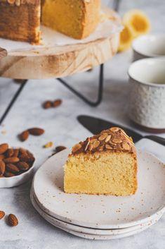 citromos mandulatorta (glutén-, laktóz- és cukormentes) - sugarfree dots Vanilla Cake, Food, Essen, Meals, Yemek, Eten