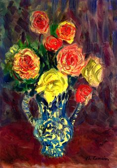 Vase of Flowers Charles Camoin
