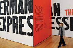 MoMA: German Expressionism - The Department of Advertising and Graphic Design