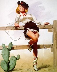 I would like to do a bedroom in all vintage cowgirl...... I love the cowgirl style