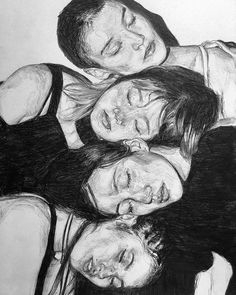 trendy drawing of girls faces sketches character design Portrait Sketches, Art Sketches, Art Drawings, Kunst Inspo, Art Inspo, Drawing People Faces, Drawing Faces, Ap Art, Art Sketchbook