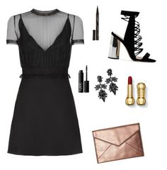 A fashion look from December 2016 featuring party dresses, lace up shoes and rebecca minkoff handbags. Browse and shop related looks. Rebecca Minkoff Handbags, Constance, Lace Up Shoes, Nars Cosmetics, Polyvore, Valentino, Party Dress, Fashion Looks, Shopping