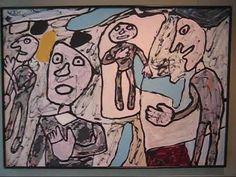 Jean Dubuffet at Helly Nahmad-1, NYC (Nov 2009) - YouTube