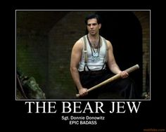 Love him in Inglourious Basterds