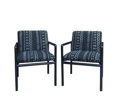 Pair Ward Bennett Mid Century Modern Lounge Chairs