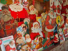 Vintage Santas   Flickr - Photo Sharing!