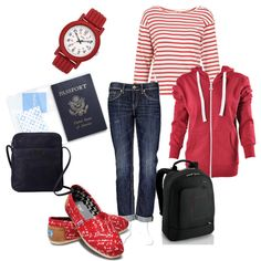travel outfit!  How to be comfy and stylish....you don't need to travel in sweatpants to be comfortable.