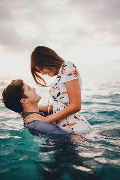 This beach engagement shoot is so beautiful, and the proposal story behind it is just as perfect!
