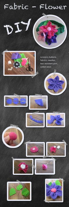 DIY - Fabric Flower
