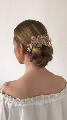 Bridal Updo & hairaccessory Bridal Hair And Makeup, Hair Makeup, Hair And Makeup Artist, Bridal Updo, Bridal Hair Accessories, Bridesmaid Hair, Updos, Wedding Hairstyles, Photo And Video