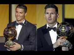 ليونيل ميسي vs  كريستيانو رونالدو حرب  الكرة الذهبية 2016