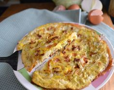 Omelette, My Favorite Food, Favorite Recipes, Food Network Recipes, Cooking Recipes, Nutrition Guide, Finger Foods, Italian Recipes, Quiche