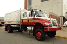 FDNY Fleet Vehicles | Photo credit: The FDNY's new, high-axle, 2.5-ton vehicles capable of ...