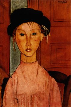 Young_Girl_in_a_Pink_Apron_-_Amedeo_Modigliani.png (PNG Image, 1024×1536 pixels) - Scaled (48%)