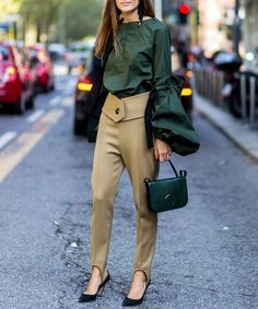 6 Street-Style Images to Convince You to Wear Stirrup Pants Right Now