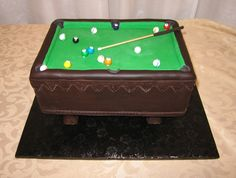 Visit the post for more. Pool Table Cake, Sculpting, Cakes, Grooms, Sports, Whittling, Hs Sports, Boyfriends, Sport