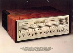 PIONEER SX-1250, too sad they won't build quality receivers like this any more//