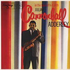 """Julian """"Cannonball"""" Adderley - In The Land Of Hi-Fi EmArcy MG 36077 - Enregistré en juin 1956 - Sortie en 1956 Note: 6/10"""