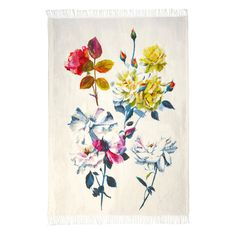 Couture Rose Throw design by Designers Guild