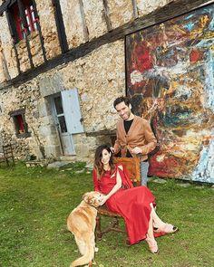 Ella actriz; él político. No les vimos en los #Goya2017 pero nos habría gustado porque Bárbara Goenaga y Borja Sémper son la pareja más explosiva (y singular) de nuestro país. Y a #VogueFebrero nos remitimos. (Fotografía: @pablucozam. Realización: @anarojas44).  via VOGUE SPAIN MAGAZINE OFFICIAL INSTAGRAM - Fashion Campaigns  Haute Couture  Advertising  Editorial Photography  Magazine Cover Designs  Supermodels  Runway Models