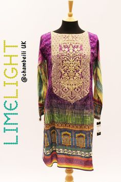 C735S Purple Kurta - Limelight Eid-ul-Adha Collection 2016