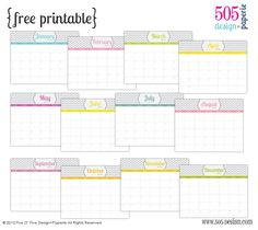 10 FREE Planners and Calendars for Every Style! | How Does She...