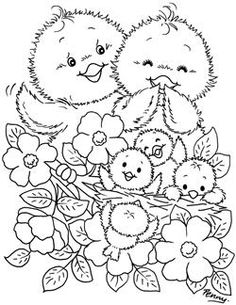 Spring Coloring Pages, Easter Coloring Pages, Cute Coloring Pages, Doodle Coloring, Adult Coloring Pages, Coloring Pages For Kids, Coloring Books, Easter Bunny Colouring, Disney Princess Coloring Pages