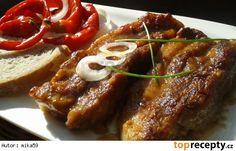 Pikantní bůček na hořčici No Salt Recipes, Pork Recipes, Czech Recipes, Pork Belly, Food 52, Bucky, Stew, Food And Drink, Menu