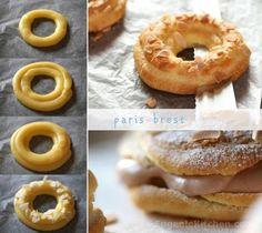 Paris-Brest Choux, French Puff Cream Recipe